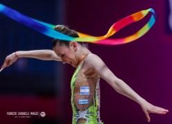 Fainberg Sol (ARG) during the Rhythmic Gymnastics FIG World Cup 2021 Pesaro at Vitrifrigo Arena, Pesaro, Italy on May 29, 2021 - Photo FCI / Fabrizio Carabelli