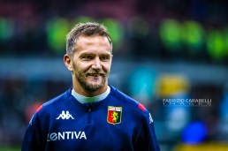 Domenico Criscito of Genoa CFC during the Serie A match between FC Internazionale and Genoa CFC at the San Siro Stadium, Milan, Italy on 21 December 2019 - Photo Fabrizio Carabelli