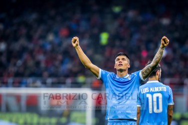 Joaquin Correa (SS Lazio) Serie A 2019/2020 ---------------------------------------------------------------- Immagini ad uso editoriale • Servizio Agenzie Stampa • Contattateci per informazioni Images for editorial use • Press Agency Service • DM for any information Fabrizio Carabelli © All Rights Reserved -------------------------------------------------------------- FABRIZIO CARABELLI IMAGES #FCI www.fabriziocarabelli.com