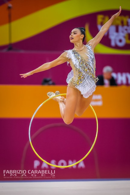 CASTILLO GALINDO (MEX) - FIG Rhythmic Gymnastics WORLD CHAMPIONSHIPS BAKU 2019 --------------------------------------------------------------- Immagini ad uso editoriale • Servizio Uffici Stampa e Federazioni • Contattateci per informazioni Images for editorial use • Federations and Press Office Service • DM for any information Fabrizio Carabelli © All Rights Reserved -------------------------------------------------------------- FABRIZIO CARABELLI IMAGES #FCI www.fabriziocarabelli.com