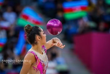 AGIURGIUCULESE (ITA) - FIG Rhythmic Gymnastics WORLD CHAMPIONSHIPS BAKU 2019 --------------------------------------------------------------- Immagini ad uso editoriale • Servizio Uffici Stampa e Federazioni • Contattateci per informazioni Images for editorial use • Federations and Press Office Service • DM for any information Fabrizio Carabelli © All Rights Reserved -------------------------------------------------------------- FABRIZIO CARABELLI IMAGES #FCI www.fabriziocarabelli.com