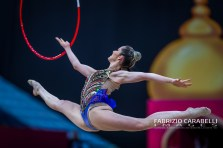 Baku, Azerbaijan - 09/19/2019: FIG Rhythmic Gymnastics World Championships 2019 Baku (AZE) - GAUDIO (BRA)