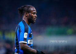 Victor Moses of FC Internazionale during the Coppa Italia 2019/20 match between FC Internazionale vs SSC Napoli at the San Siro Stadium, Milan, Italy on February 12, 2020 - Photo Fabrizio Carabelli