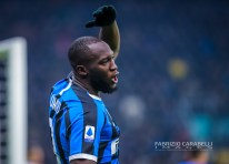 Romelu Lukaku of FC Internazionale during the Serie A match between FC Internazionale and Atalanta BC at the San Siro Stadium, Milan, Italy on 11 January 2020 - Photo Fabrizio Carabelli