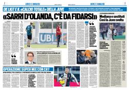 Pubbl. 07_06_2020 TUTTOSPORT Ronaldo FCI_8497