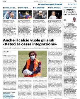 Pubbl. 09_04_2020 QS LA NAZIONE Ronaldo FCI_8205