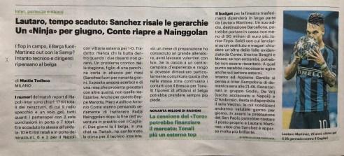 Pubbl. 17_06_2020 IL GIORNO Lautaro