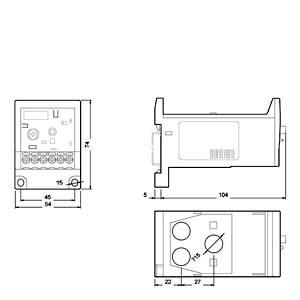 Elektroniczny przekaźnik przeciążeniowy 1Z 1R 6-25A S2