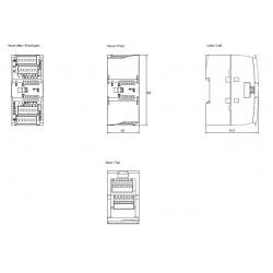 Moduł wejść binarnych SM 1221 16 wejść 24V DC Simatic S7