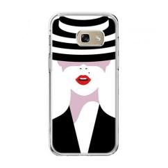 Usb Kabel Samsung A5 2017 4 Fla Rak Grp 21 Patriot Etui Na Telefon Galaxy (a520) - Kobieta W Kapeluszu. 2017r