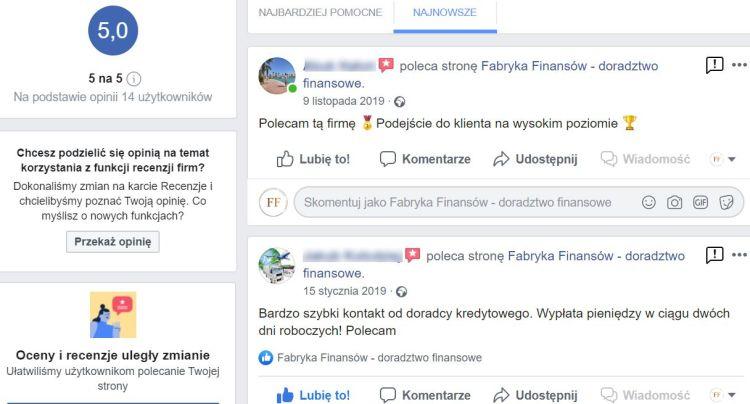 Doradca Finansowy Rzeszów opinie facebook