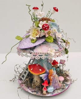 C97 Charms Of Spring Collection_Fairy Mushroom House_1_Trudi Harrison