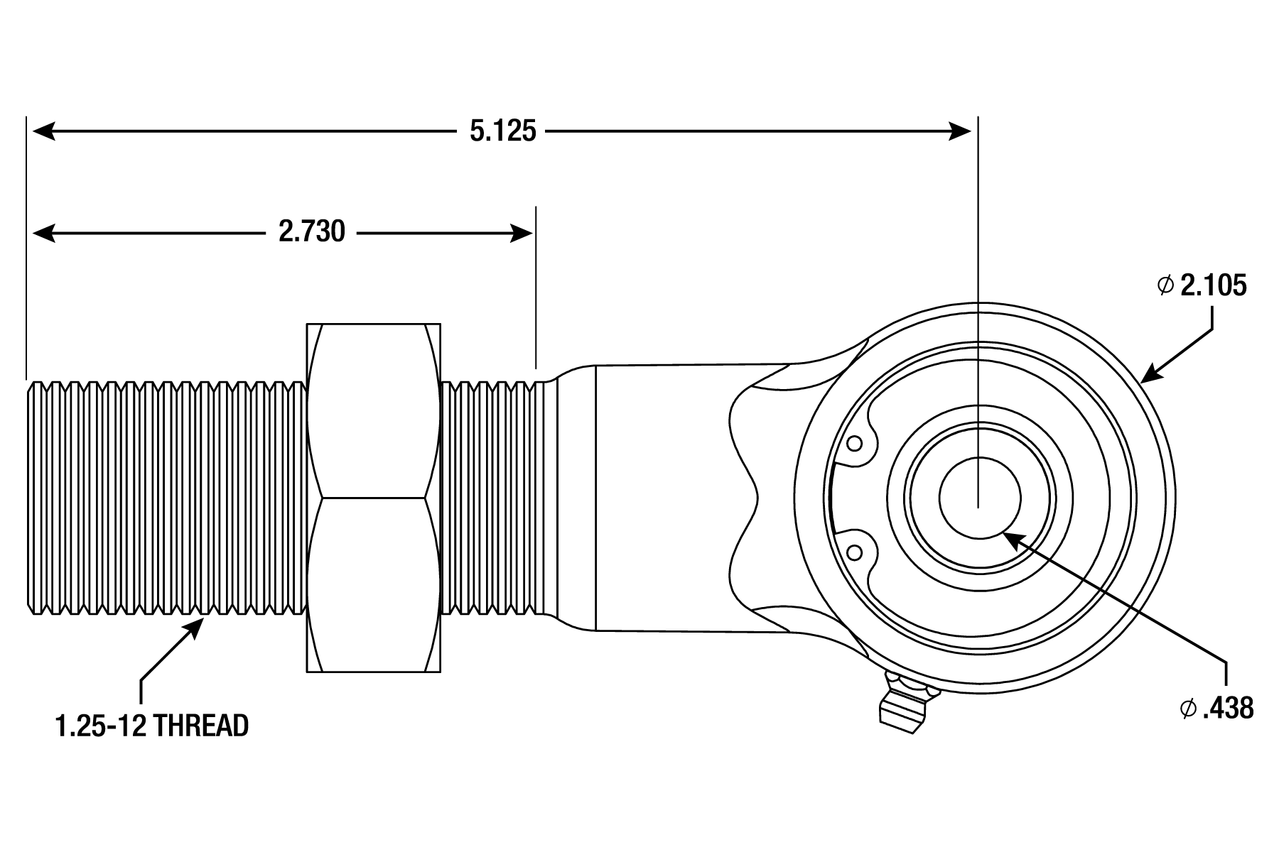 Small Poly Ball Joint