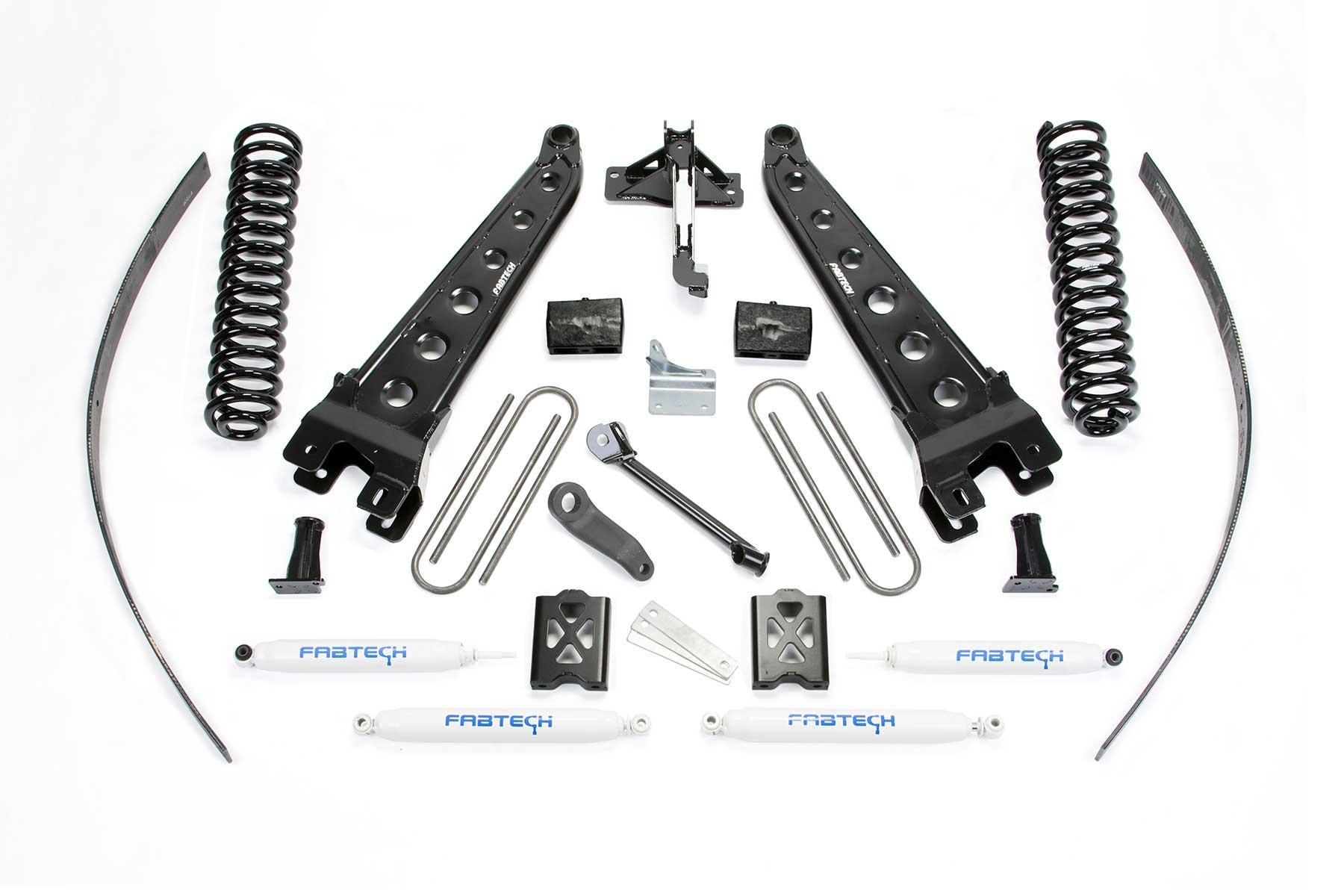 8 Radius Arm System W Performance Shocks
