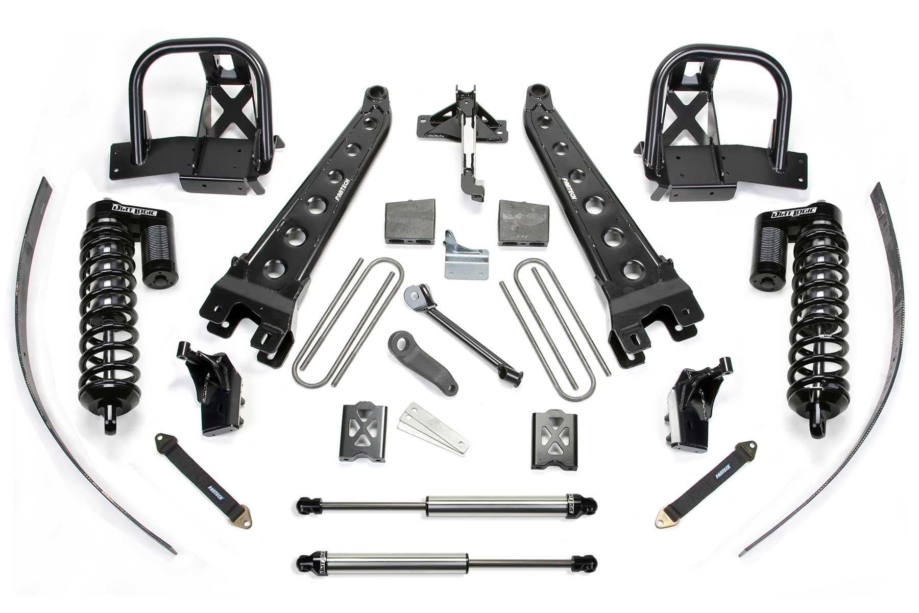 8 Radius Arm System W Dirt Logic 4 0 Coilovers Amp Rear Dirt Logic Shocks
