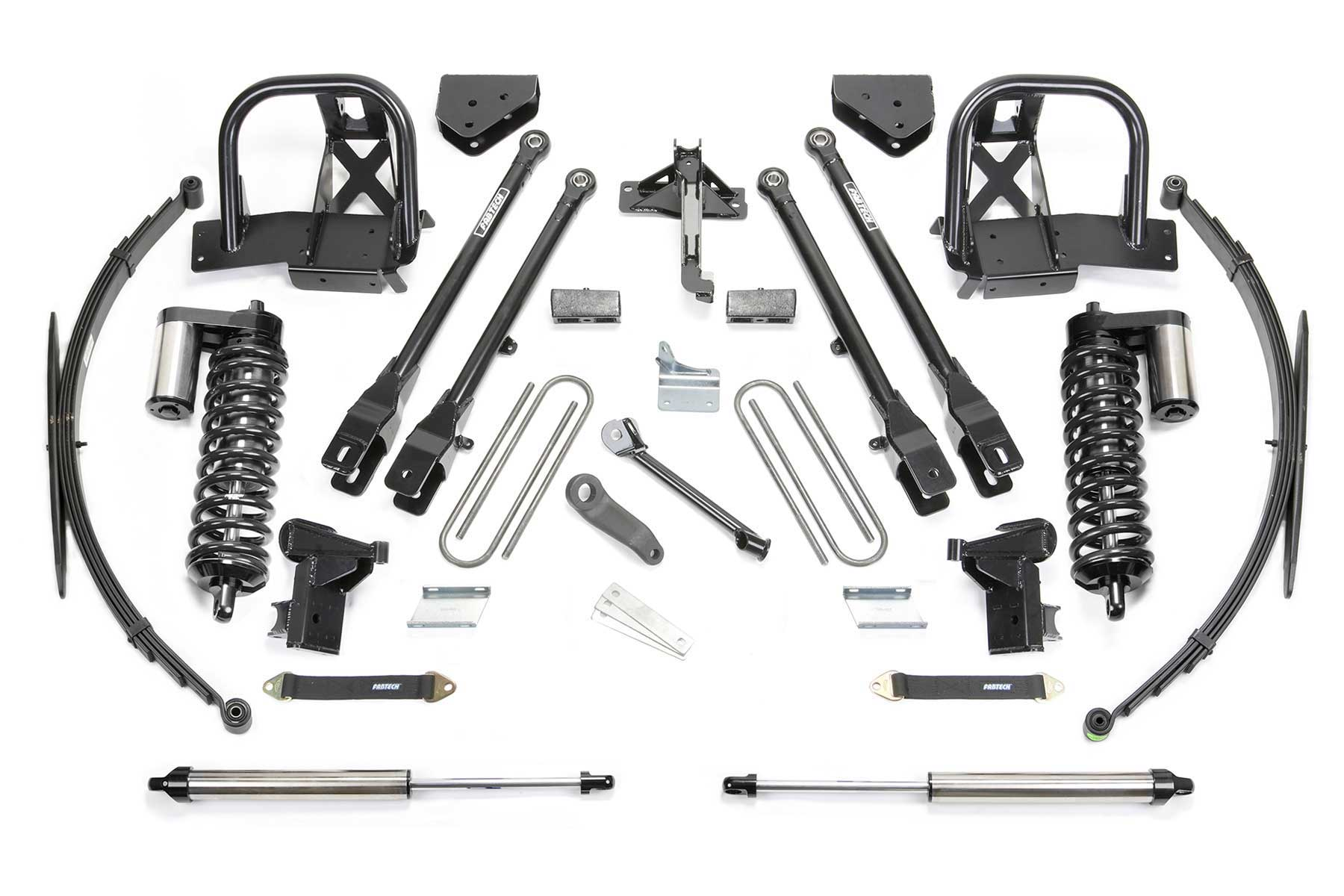 10″ 4 Link System w/ Dirt Logic 4.0 Coilovers & Rear Dirt
