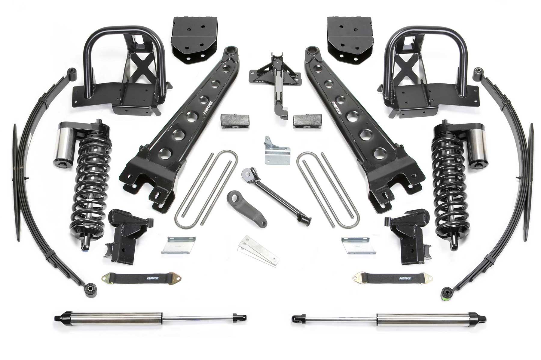 10 Radius Arm System W Dirt Logic 4 0 Coilovers Amp Rear Dirt Logic Shocks