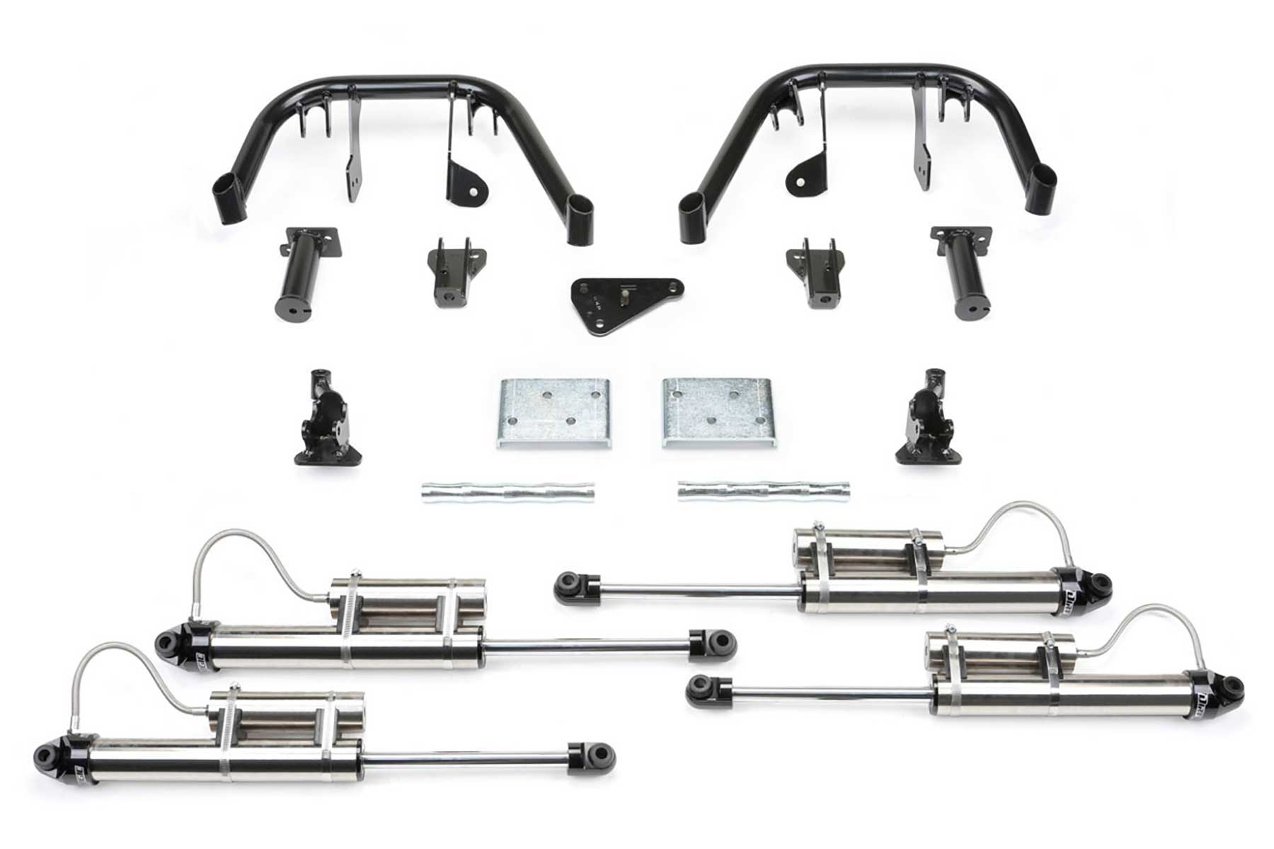 6 Multiple Front Shock System W Dirt Logic 2 25 Resi Shocks