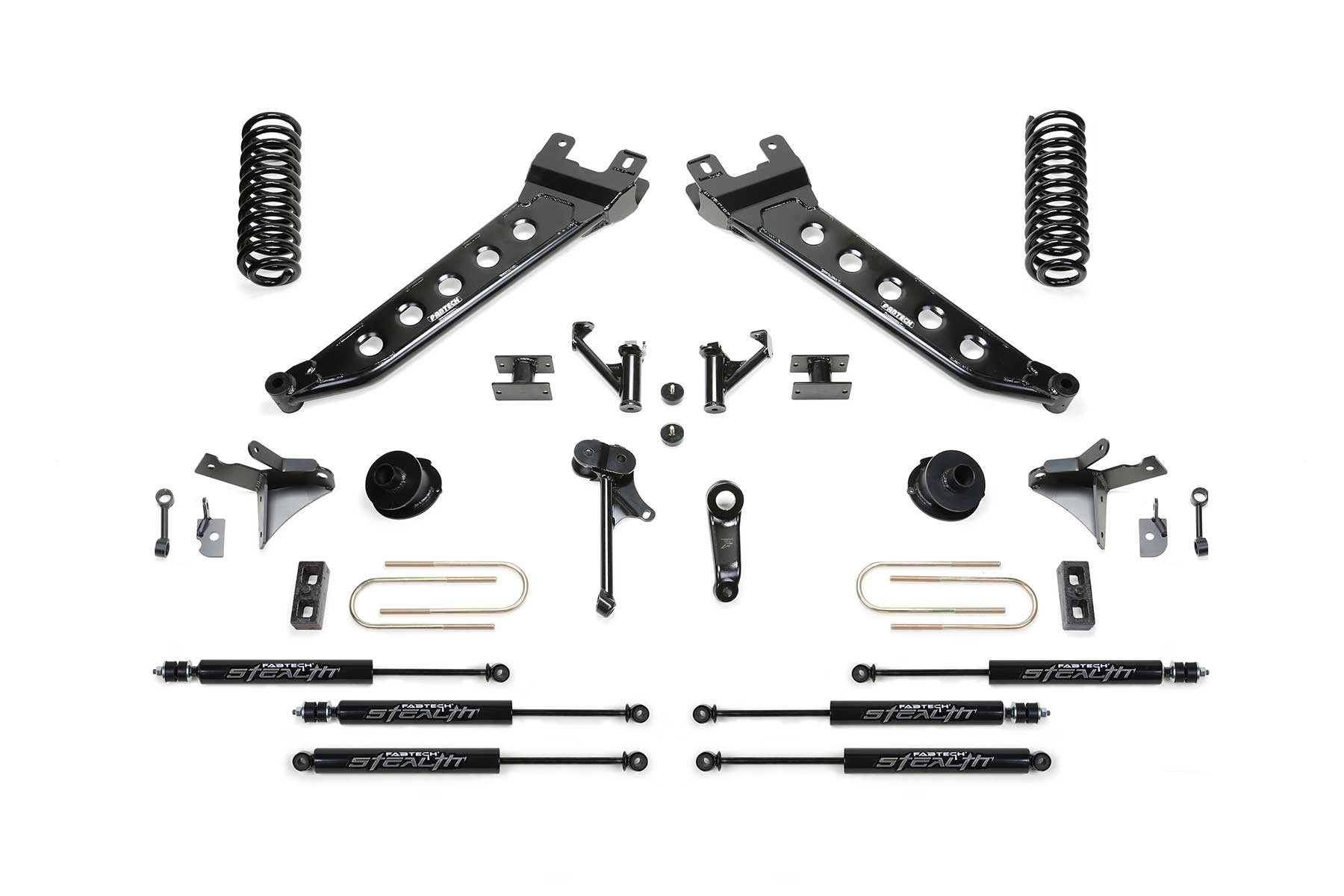 5 Radius Arm System W Coil Springs Amp Front Dual Stealth Shocks Amp Rear Stealth Shocks