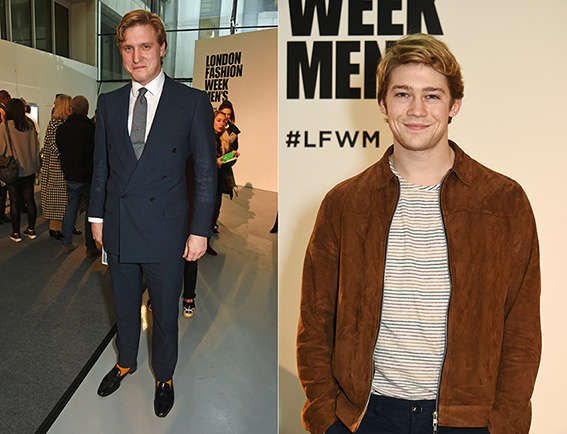 attends the Oliver Spencer AW17 Catwalk Show during London Fashion Week Men's January 2017 at the BFC Show Space on January 7, 2017 in London, England.