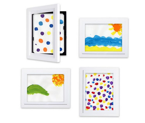 built in storage display your latest print while keeping up to 49 others behind - Dynamic Frames