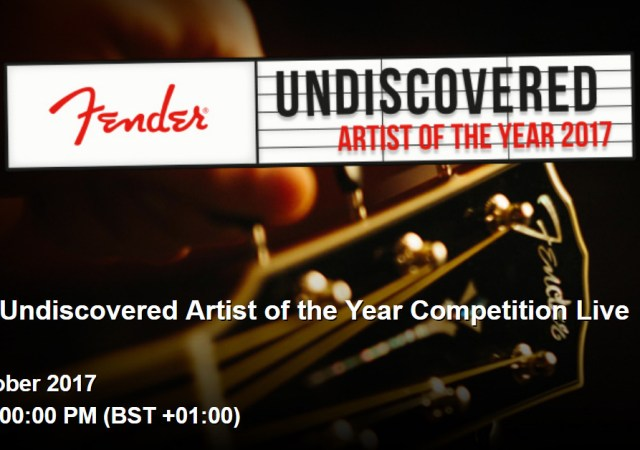 Fender Undiscovered Artist of the Year 2017