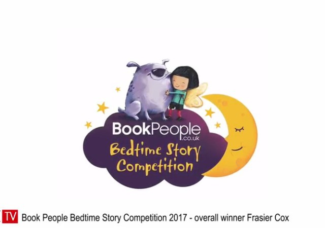Book People Bedtime Story Competition 2017 overall winner Frasier Cox fabUK