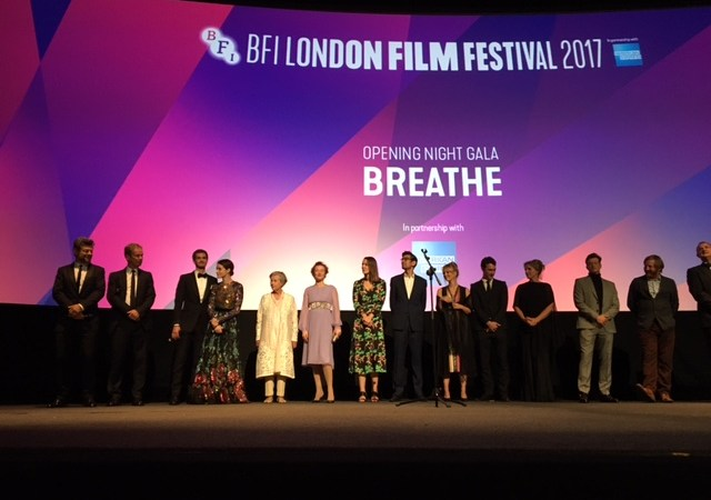 "London Film Festival Opening Night Film ""Breathe"" 2"
