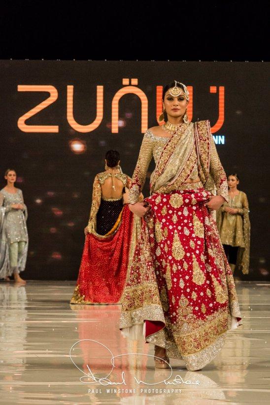 Zunn Catwalk At Pakistan Fashion Week London (11)