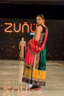 Zunn Catwalk At Pakistan Fashion Week London (25)