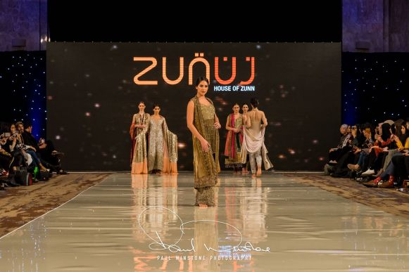 Zunn Catwalk At Pakistan Fashion Week London (4)