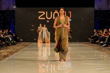 Zunn Catwalk At Pakistan Fashion Week London (8)