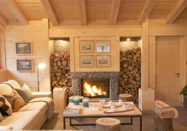 Les Rives D Argentiere Living Room