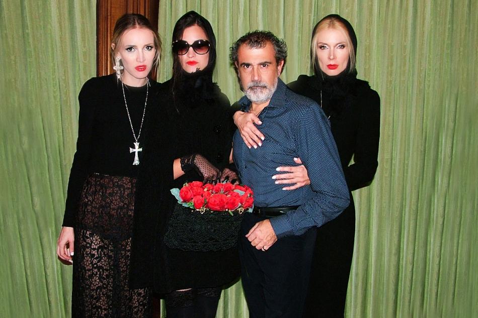 Michele Miglionico And Models (rett)