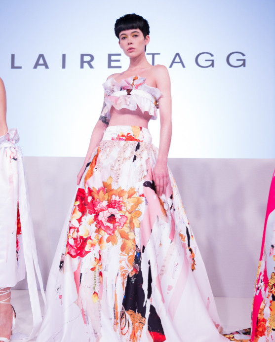 Claire Tagg At LFW (1)
