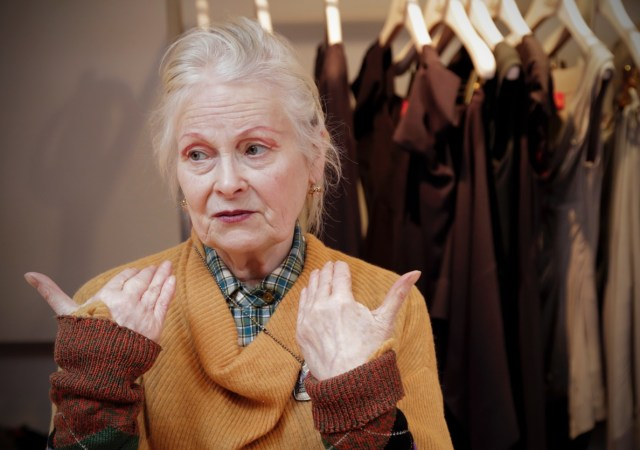 Legendary Fashion Designer Vivienne Westwood