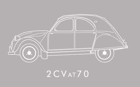 2cv White Logo