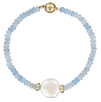 Pearl and semi precious stone jewellery inspired by ancient greek styles