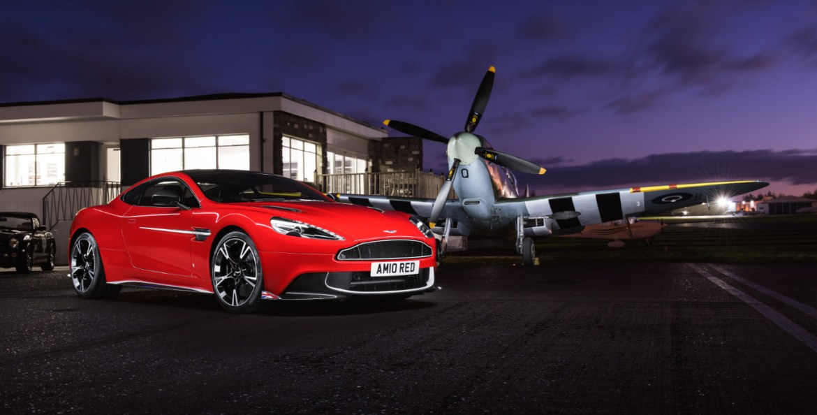 Royal Air Force Aston Martin V2