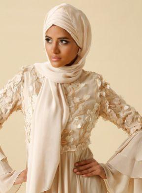 Modanisa ramadan trends 2018 rasit bagzibagli beige shawl