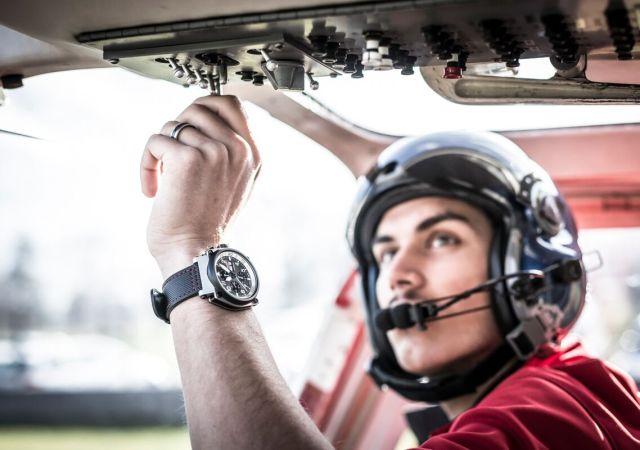 Elias ambühl heli formex pilot watch