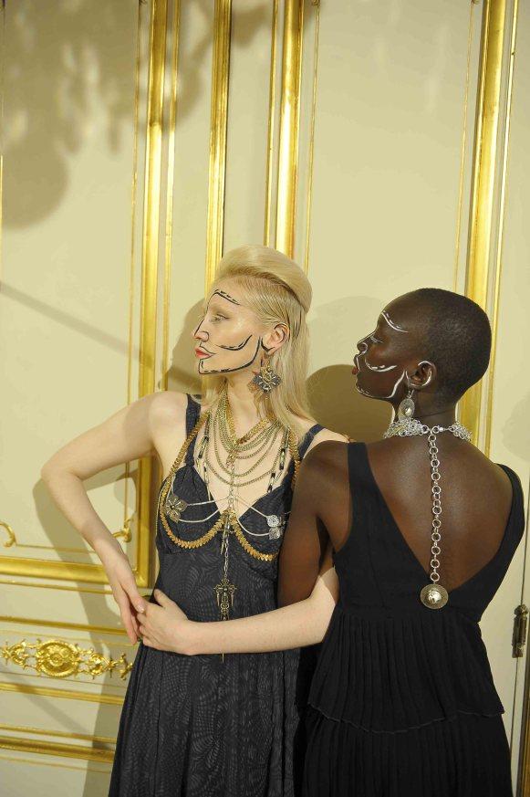 "Abe by ariane chaumeil art jewelry ""miroir ô miroir"" collection"