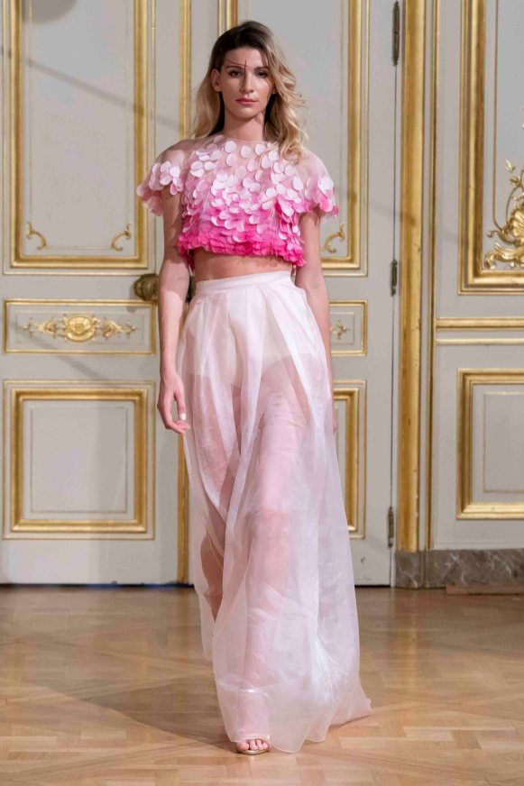 Armine ohanyan photos defile fashion show elements couture collection automne hiver fall winter 2018 2019 pfw © imaxtree 5