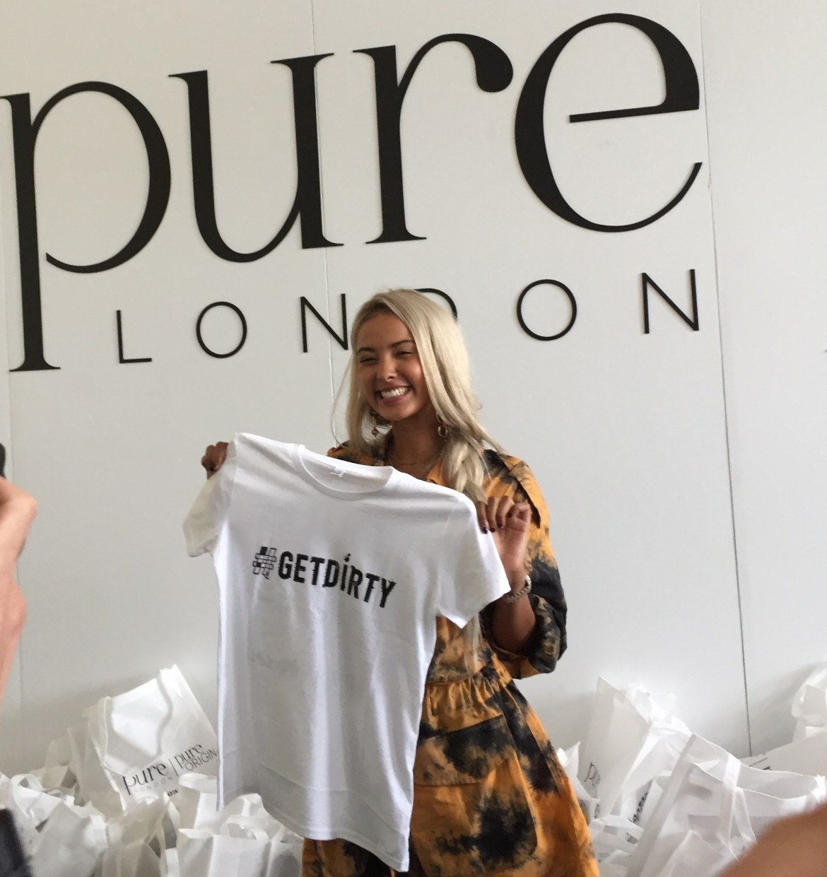 Maya jama get dirty at pure london