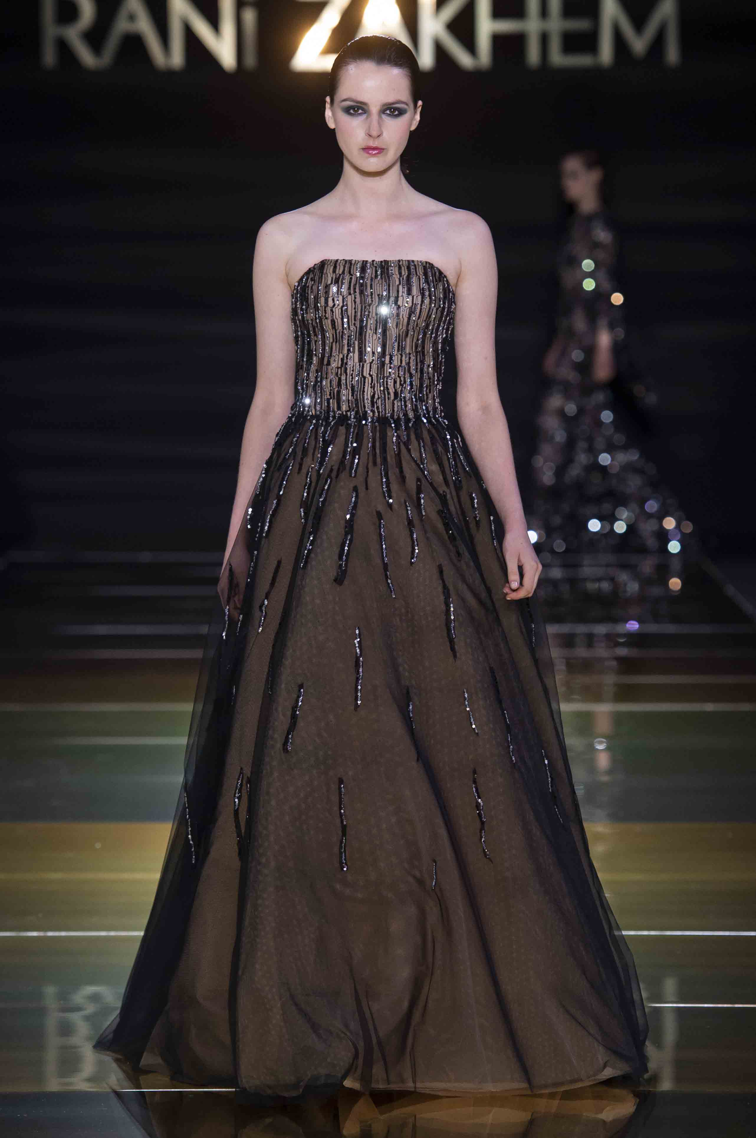 Rani zakhem couture collection automne hiver fall winter 2018 2019 pfw © imaxtree (27)