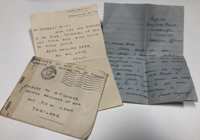 World war two letters