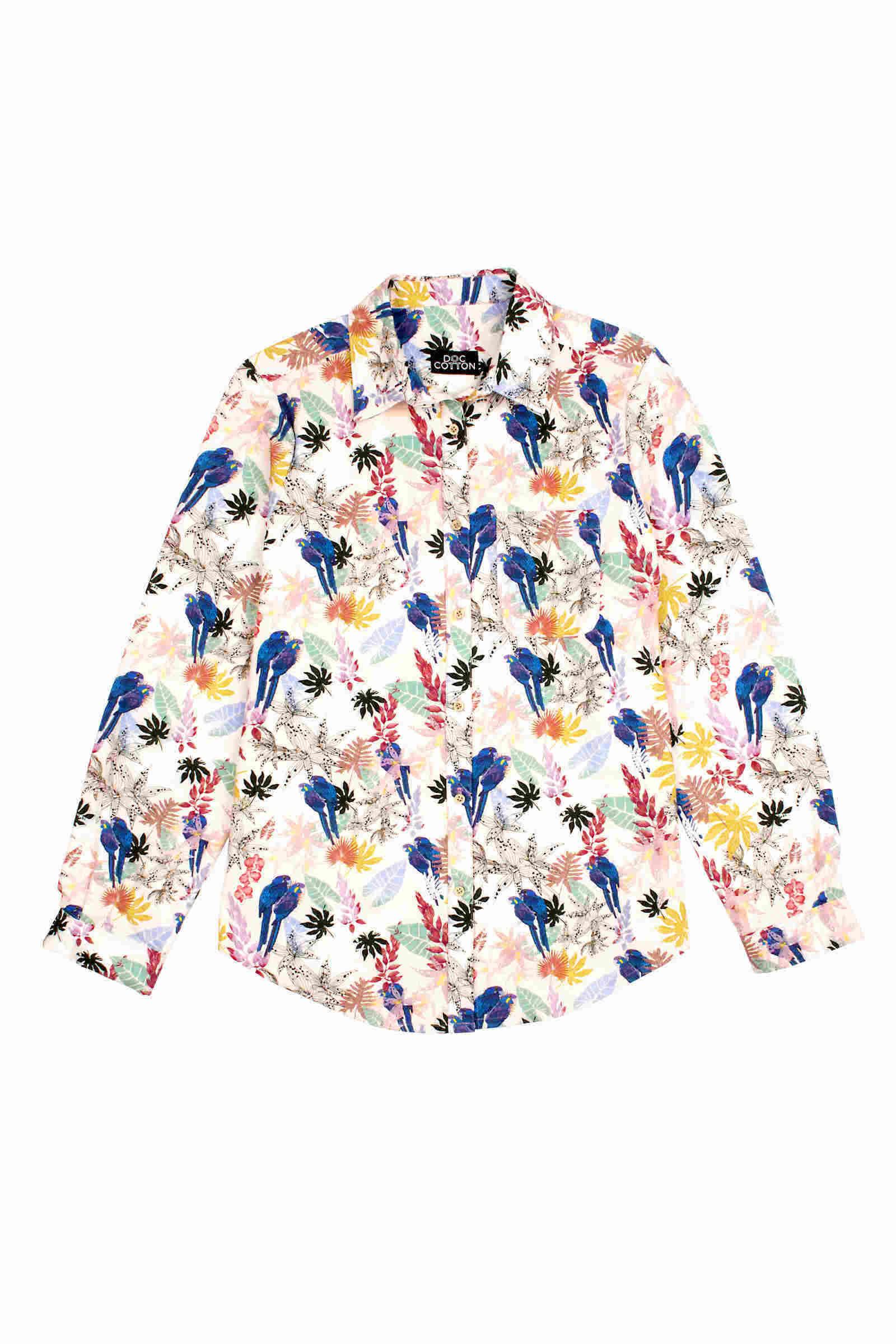 Women's boyfriend shirt