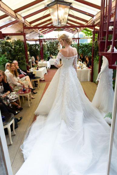 Bride at marks club