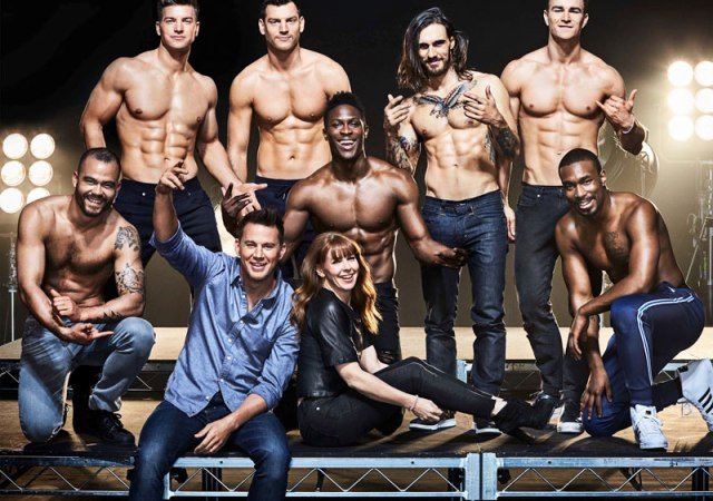 Channing tatum's magic mike live in london