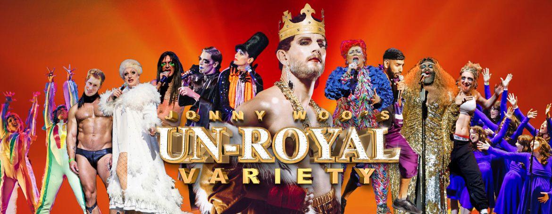 Jonny woo's un royal variety